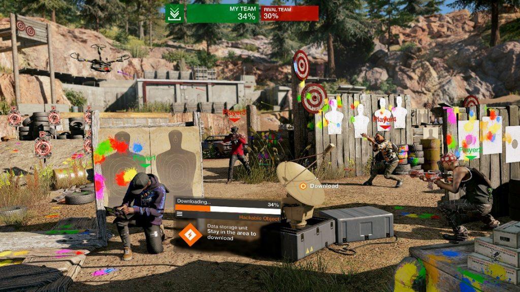 Watch Dogs 2: è disponibile laggiornamento 1.13 con tantissimi contenuti gratuiti paintball 288537 1024x576