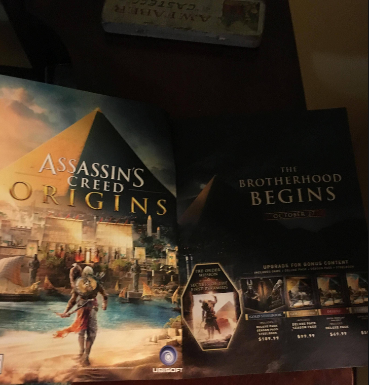 Assassins Creed Origins svelato da Game Informer ac game informer 2