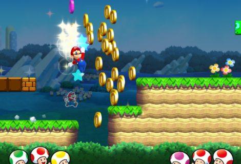 Nintendo mostra un po' di Super Mario Run e le azioni impennano