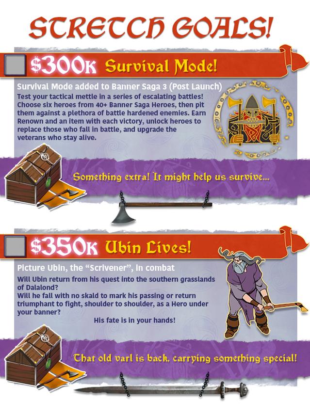 The Banner Saga 3 conclude con successo la sua campagna Kickstarter banner saga 3