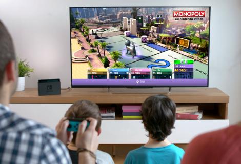 Ubisoft e Hasbro annunciano l'arrivo di Monopoly per Nintendo Switch