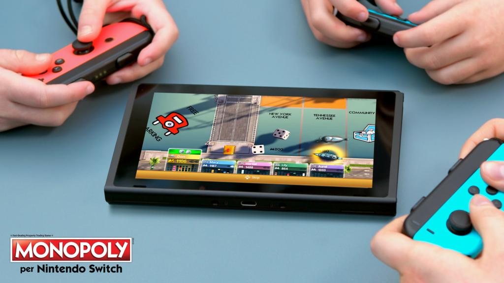 Ubisoft e Hasbro annunciano larrivo di Monopoly per Nintendo Switch MNX tabletop mode IT 1492009238 1024x576