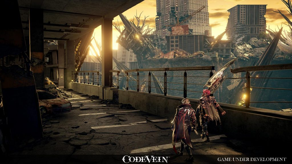 Code Vein si mostra in nuove immagini code vein reveal screen environment 5 1024x576