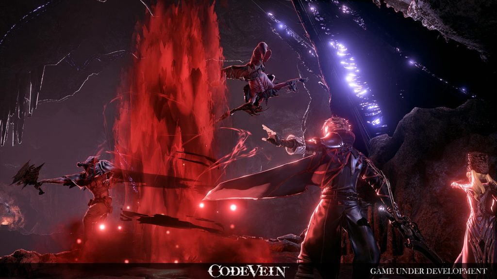 Code Vein si mostra in nuove immagini code vein reveal screen using gifts 1 1024x576