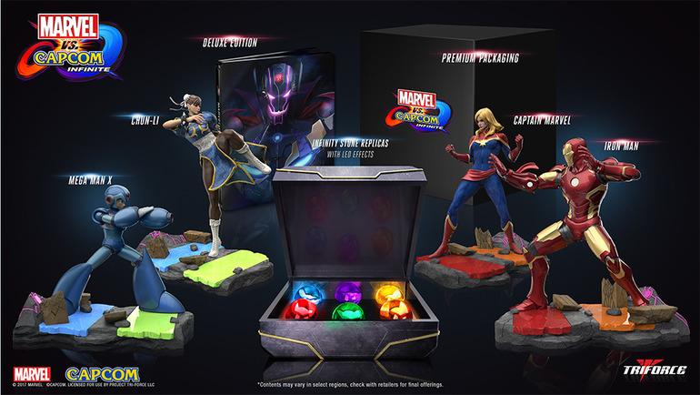 Capcom presenta le edizioni speciali di Marvel vs Capcom Infine r marvel vs capcom infinite notizia 2