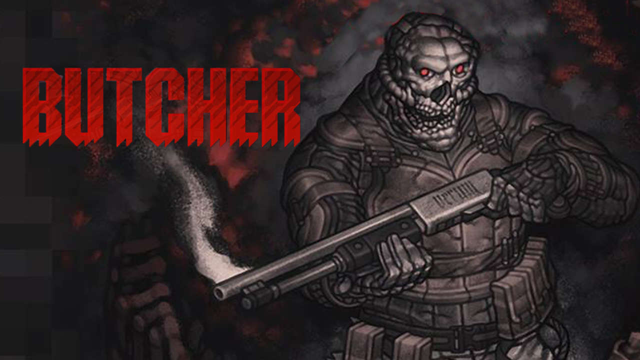 BUTCHER: il tributo bidimensionale a DOOM è disponibile - Games Ninja