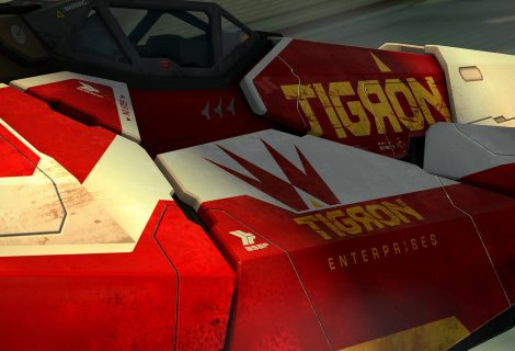 WipEout Omega Collection: presentata la nave Tigron K-VSR
