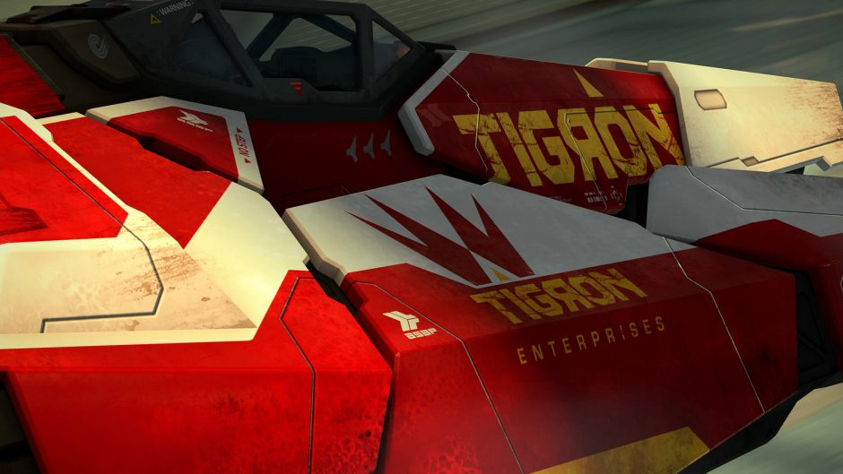 WipEout Omega Collection: presentata la nave Tigron K-VSR