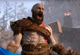 Poster gigante per God of War all'E3